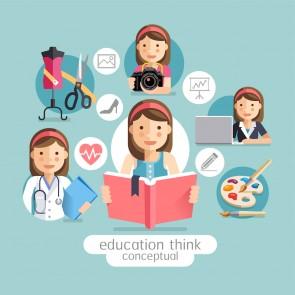 Yetenekleri Keşfeden Eğitim Sınıf ve Okul Duvar Kağıdı
