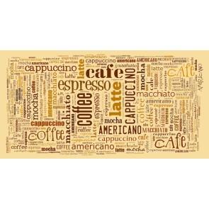 Espresso ve Cappuccino Kafe ve Restoran Duvar Kağıdı Modeli