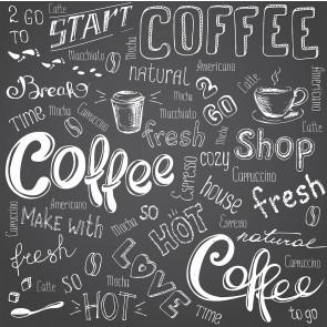 Kahve Diyarı Kafe ve Restoran Duvar Kağıdı Modeli