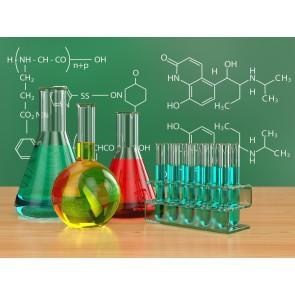 Kimya 3 Boyutlu Duvar Kağıdı