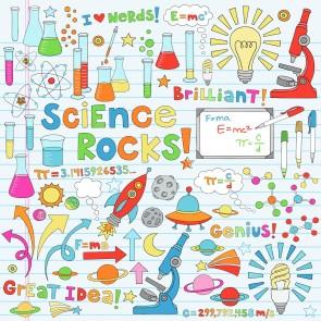 Science Rocks 3 Boyutlu Duvar Kağıdı