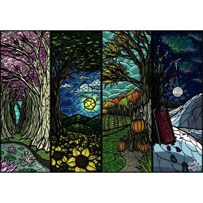 Dört Mevsim Duvar Kağıdı