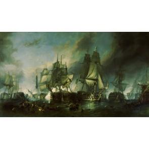 The Battle of Trafalgar Duvar Kağıdı