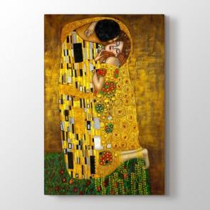 The Kiss - Yağlı Boya Dekoratif Duvar Tablosu