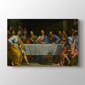 Last Supper - Yağlı Boya Duvar Dekor Kanvas Tablo