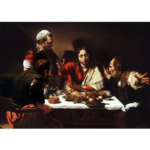 Supper at Emmaus By Caravaggio Duvar Kağıdı Önizleme