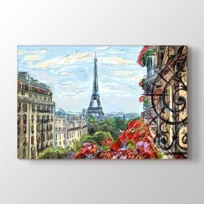 Paris Tablosu - Modern Duvar Tablosu Modeli
