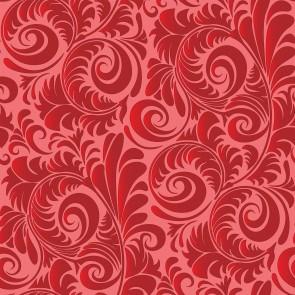 Kızıl Düşler Desenli Duvar Kağıdı Önizleme