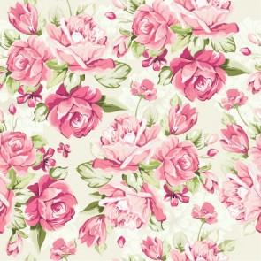Gülistan Çiçek Gül Desenli Duvar Kağıdı Önizleme
