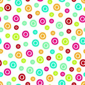 Renkli Daireler Desenli Resimli Duvar Kağıdı Önizleme