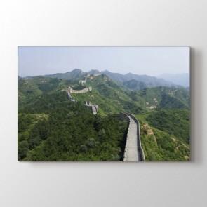 Çin Seddi - Şehir Duvar Tablosu Modeli