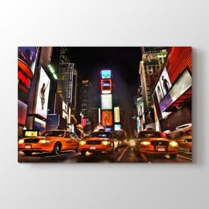 Times Meydanı - Şehir Dekoratif Duvar Tablosu
