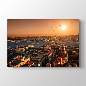 Burası İstanbul - Şehir Resimli Tablo Modeli