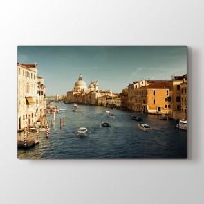 Venedik Kanalı - Şehir Duvar Tablosu Modeli
