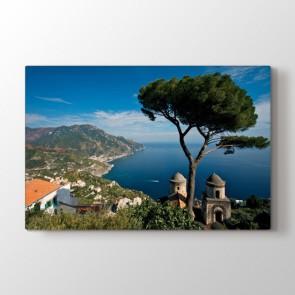Ravello İtalya - Şehir Resimli Tablo Modeli