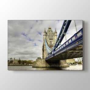 Towers Bridge Londra - Şehir Kanvas Tablo Modeli