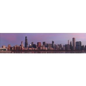 Chicago'da Gün Batımı Duvar Kağıdı Önizleme