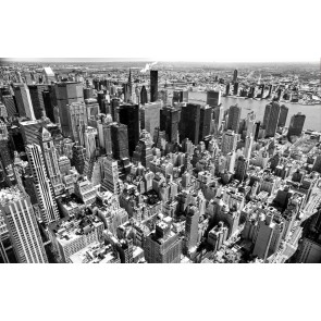 Siyah Beyaz New York Duvar Kağıdı