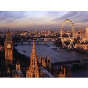 Londra'da Yaşamak - Üç Boyutlu Duvar Kağıtları