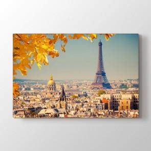 Paris'te Sonbahar - Şehir Resimli Tablo Modeli