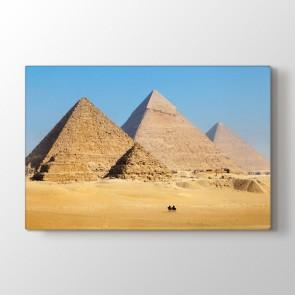 3 Piramit | Kanvas Tablo Modeli