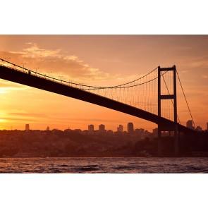 Bir İstanbul Masalı - Resimli Dekoratif Duvar Kağıdı