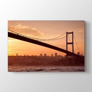 Bir İstanbul Masalı - Şehir Duvar Tablosu