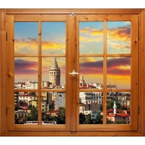 Galata Kulesi 3 Üç Boyutlu Duvar Kağıdı Önizleme
