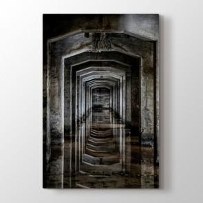 Antik Koridor Tablosu | Kanvas Tablo Fiyatları