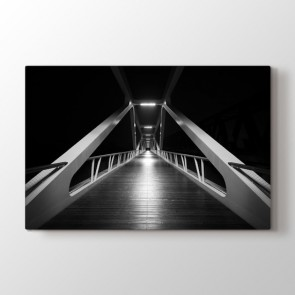 Gizemli Köprü Tablosu | Ev Dekorasyon Tablo