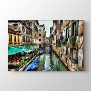 Venedik Işıltısı Tablosu   Manzara Tabloları Fiyatları