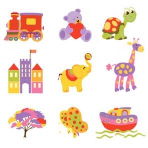 Oyuncaklarım Çocuk Odası Duvar Kağıdı Önizleme