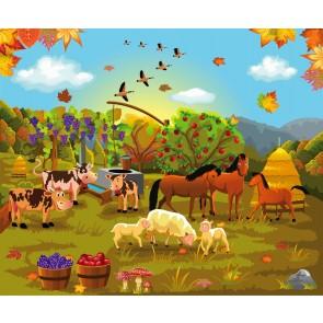 Çiftlik Hayatı Duvar Kağıdı