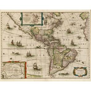 Bir Zamanlar Amerika Harita Poster Duvar Kağıdı Önizleme