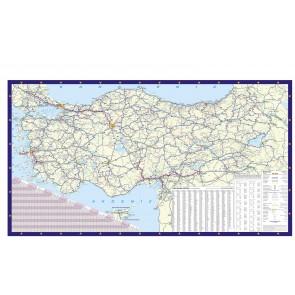 Türkiye Siyasi Haritası Poster Duvar Kağıdı Önizleme