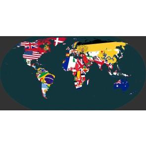 Bayrak Atlası Duvar Kağıdı