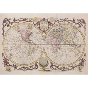 Eski Dünya Atlası Duvar Kağıdı