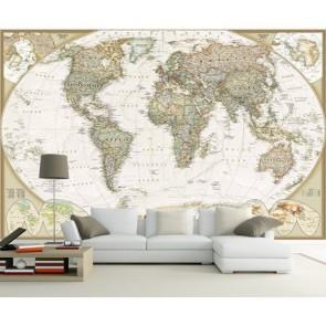 Dekoratif Dünya Haritası