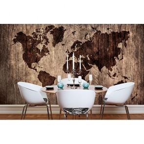 Ahşap Döşeme Dünya Haritası