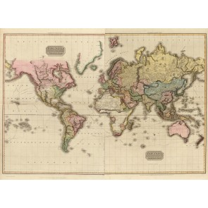 1800ler Dünya Haritası