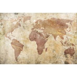 Duvardan Dünya 3 Boyutlu Duvar Kağıdı