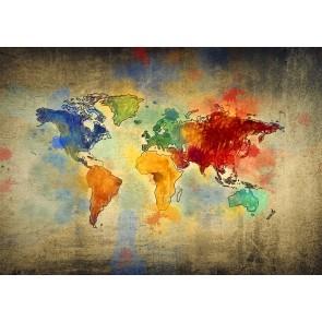 Keçeli Kalem Dünyası 3 Boyutlu Duvar Kağıdı