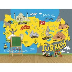 Türkiye Turistik Simgeler Haritası