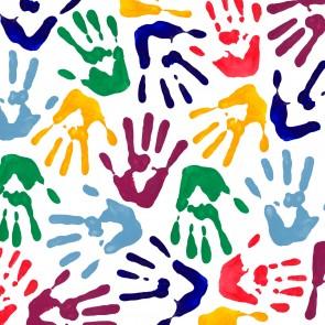 Renkli Eller Duvar Kağıdı