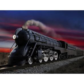 Kara Tren Duvar Kağıdı
