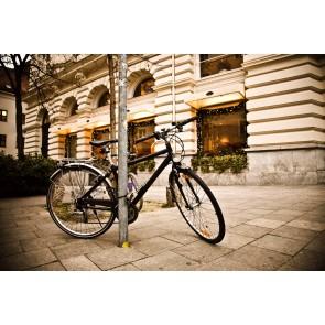 Bisiklet Turu - Kendinden Yapışkanlı Duvar Kağıdı