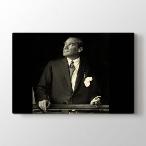Atatürk - Ofis Dekoratif Duvar Tablosu