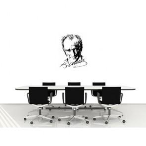 Atatürk İmzalı Portre