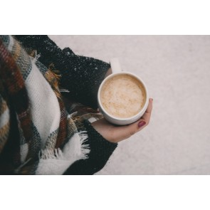 Sıcacık Kahve 3 Boyutlu Duvar Kağıdı