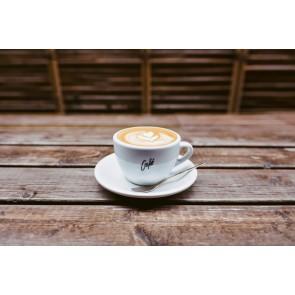 Bir Fincan Kahve Olsa 3 Boyutlu Duvar Kağıdı